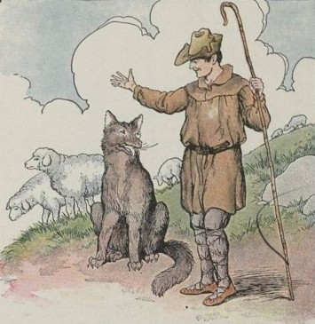 The wolf and the shepard